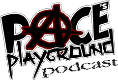 Pace's Playground podcast - MMA and Rock Music - Logo