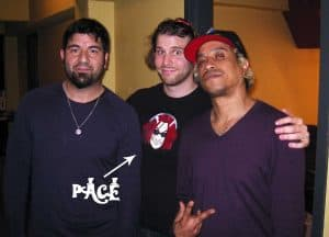 Deftones - Chino Moreno and Sergio Vega photo - Pace's Playground podcast