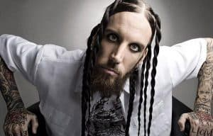 "Korn - Brian ""Head"" Welch photo"