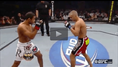 UFC - Jose Aldo free fight versus Mark Hominick
